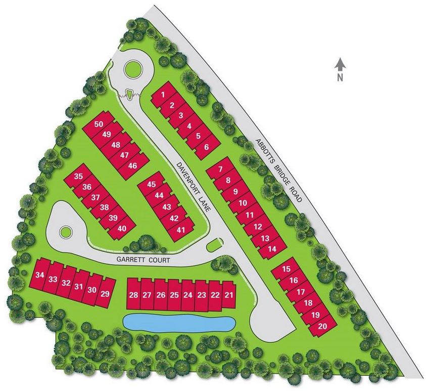 Taylor Morrison Abbotts Square Community Site Plan